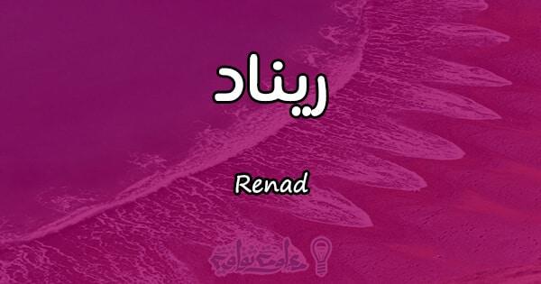 ما هو معنى اسم ريناد بالتفصيل