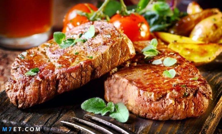رؤية اللحم المطبوخ في المنام لابن سيرين