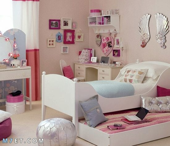ديكورات غرفة نوم بنات