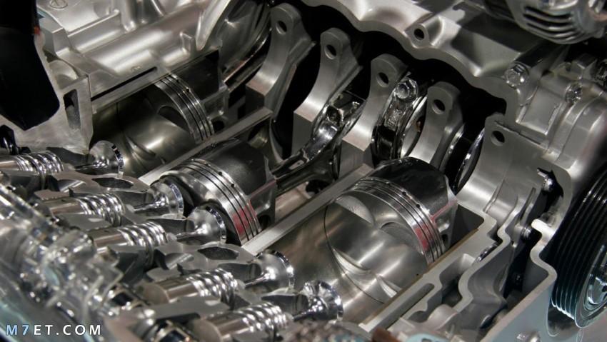 أجزاء مكينة السيارة