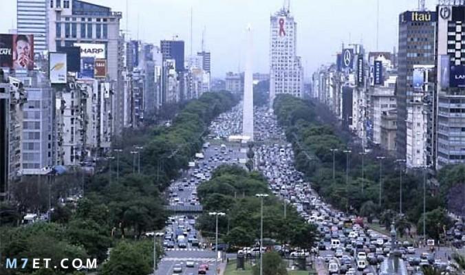 ما هي عاصمة الأرجنتين؟