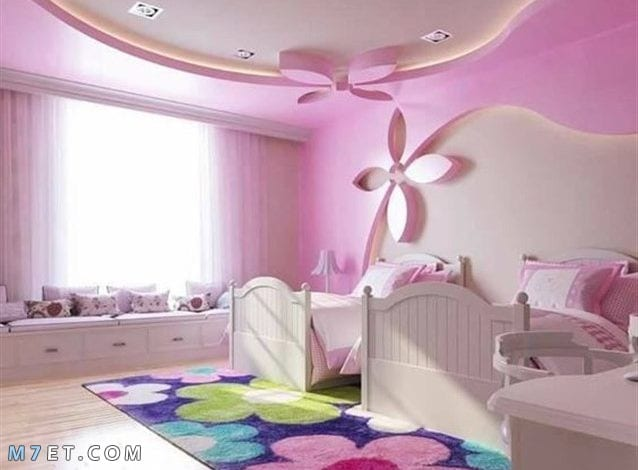 ديكورات جبس غرف نوم اطفال