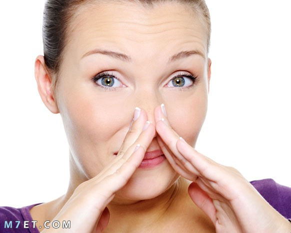 تصغير الانف بمعجون الاسنان
