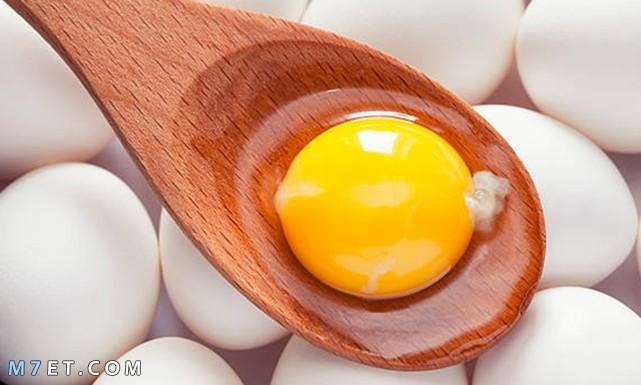 فوائد صفار البيض للبشرة