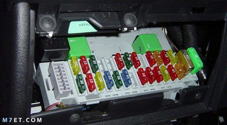 ما هي الفيوز المسؤول عن تشغيل السيارة