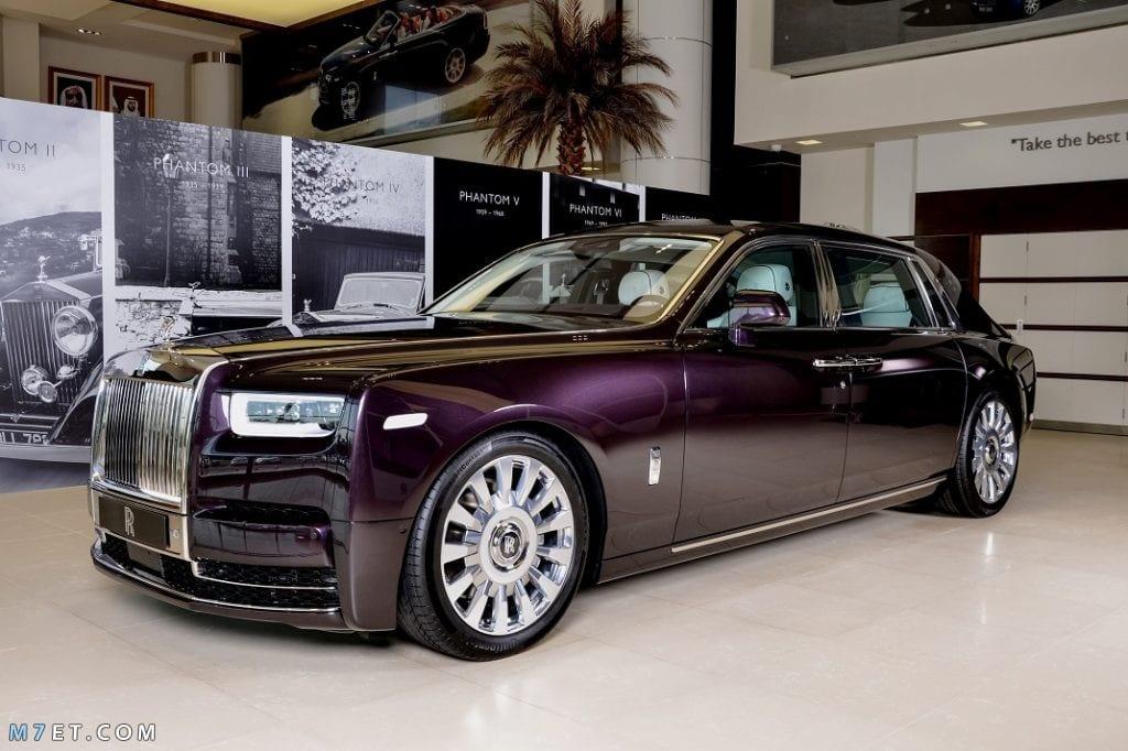 افخم السيارات في السعودية