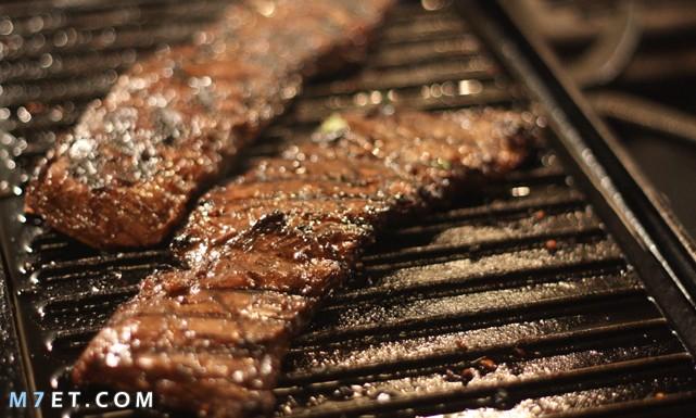 طريقة عمل طاجن شرائح اللحم