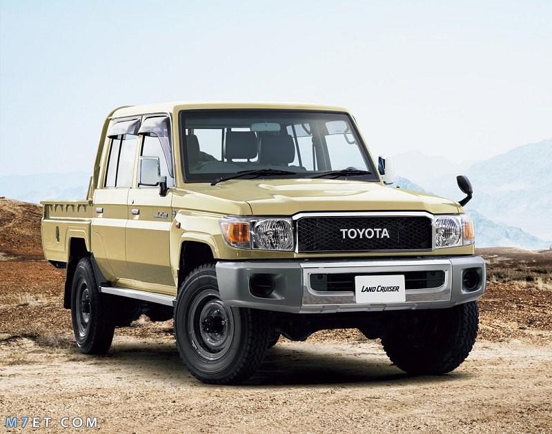 أنواع سيارات تويوتا دفع رباعي