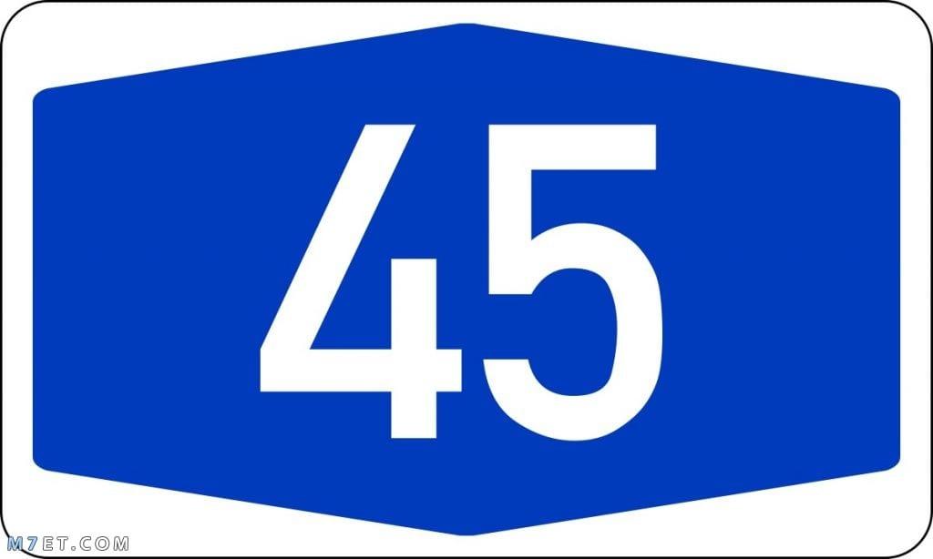 تفسير رقم 45 في المنام للعزباء