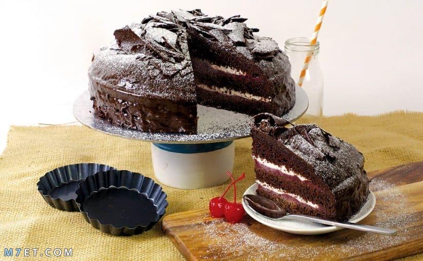 مكونات الكيكة العادية