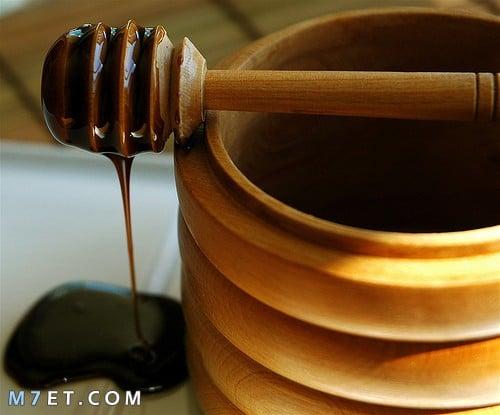 ماسك العسل الاسود للبشرة