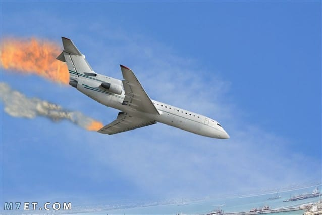 تفسير سقوط الطائرة في المنام