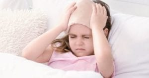 الم الراس عند الاطفال مع الاستفراغ