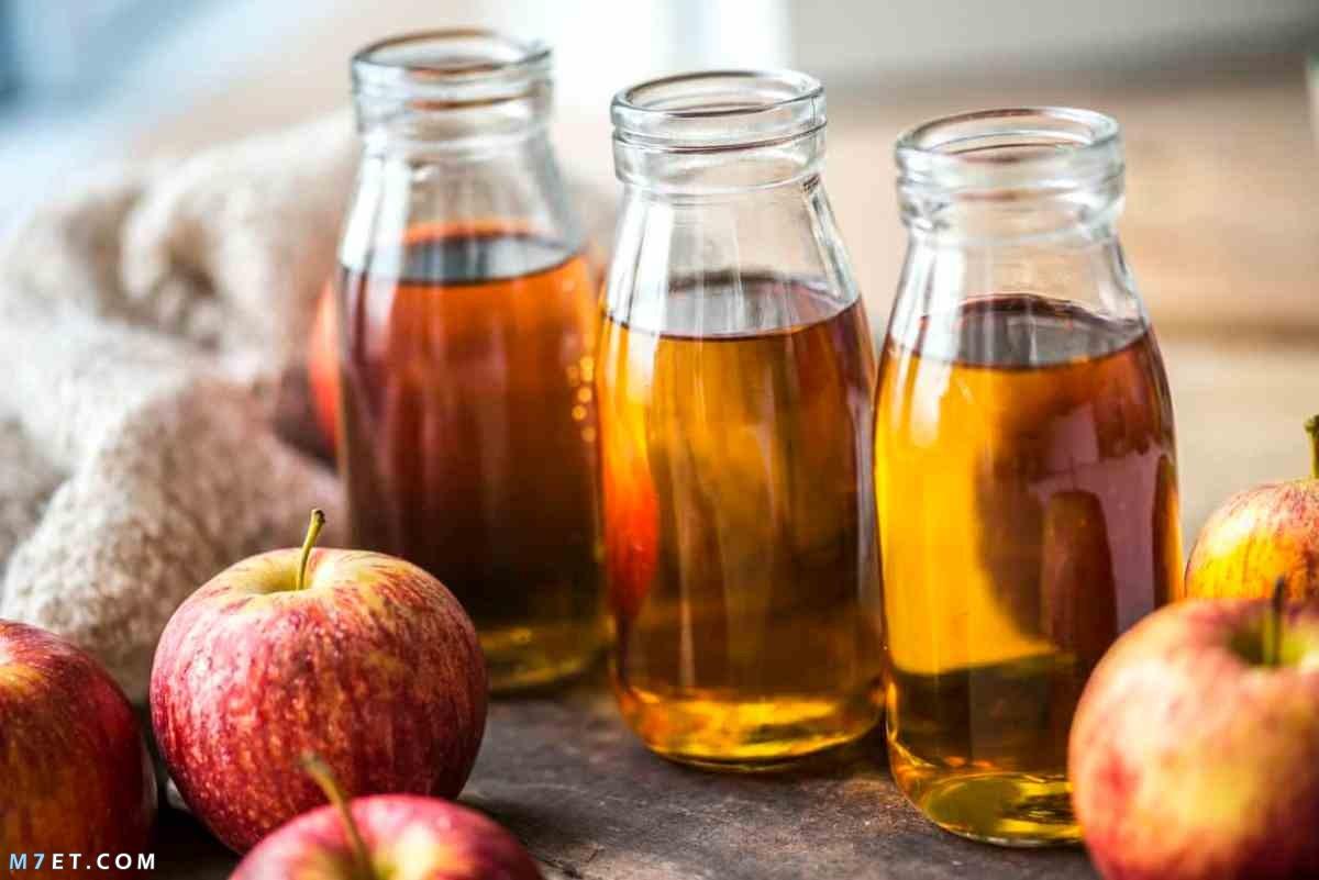 فوائد خل التفاح المعدة والقولون