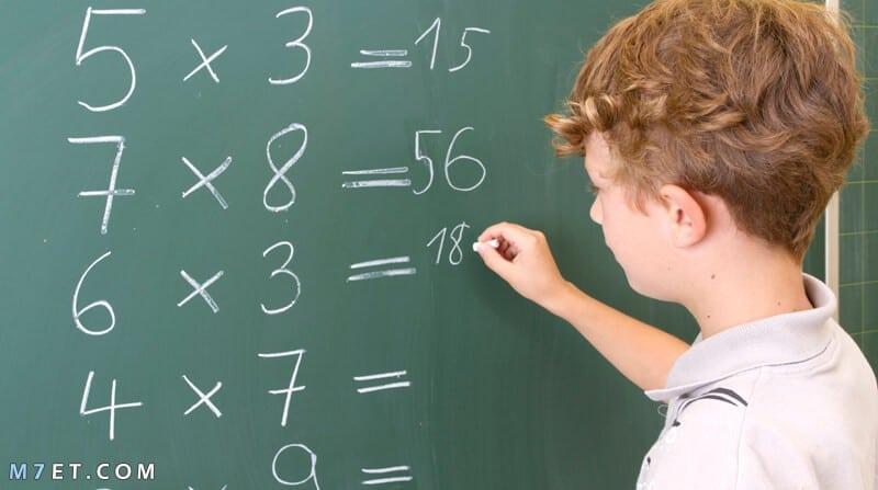 أسهل طريقة لحفظ جدول الضرب للاطفال والكبار