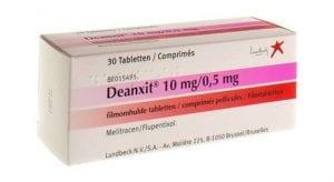 ماذا يفعل دواء deanxit وهل له آثار جانبية