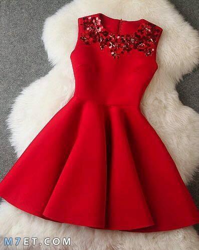 الفستان الاحمر في المنام