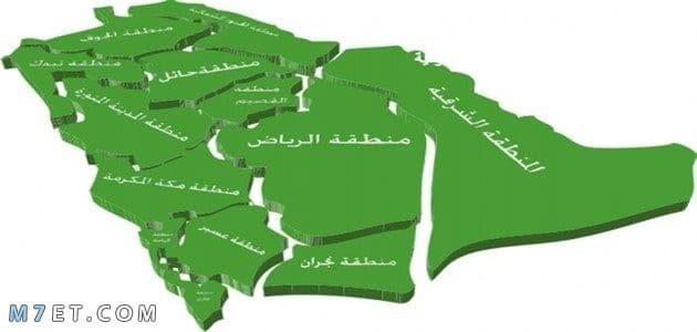 الرموز البريدية للمدن السعودية