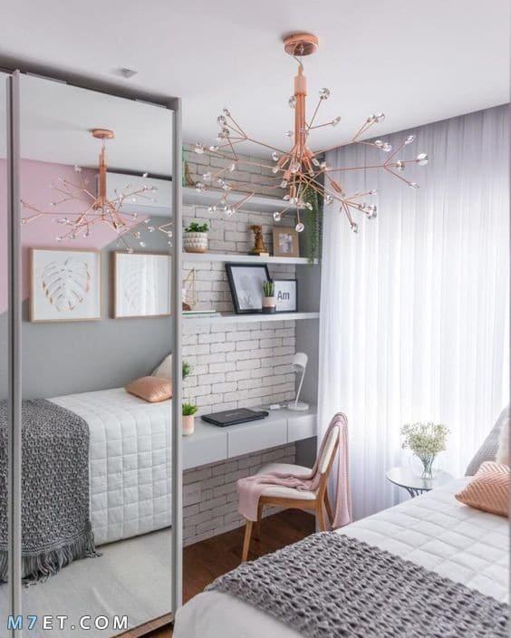 احدث تصميمات غرف النوم الصغيرة