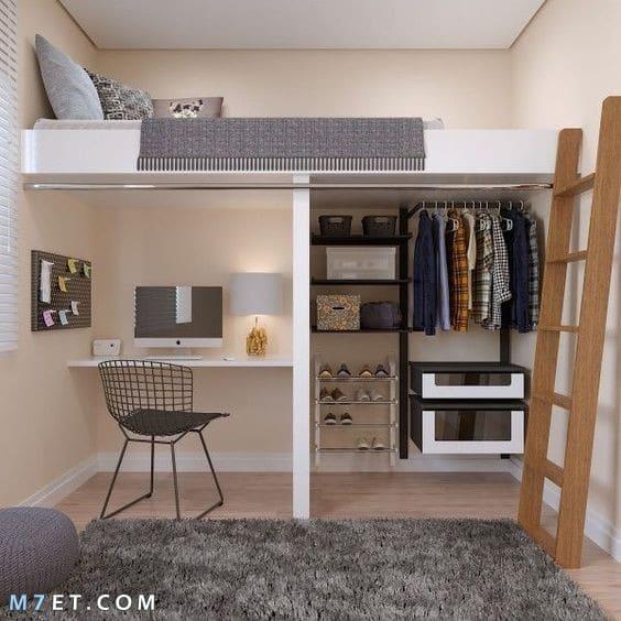 صور غرف نوم صغيرة