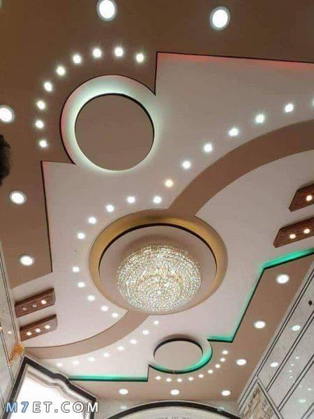 صور ديكورات اسقف from m7et.com