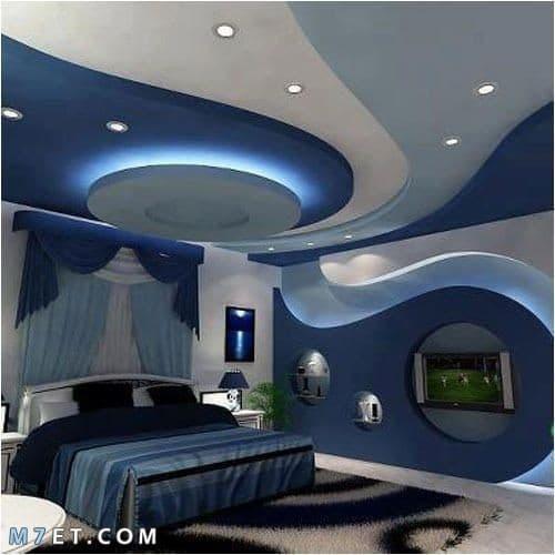 صور ديكورات جبس لغرف النوم