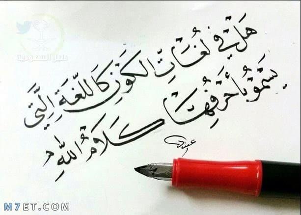 عبارات قصيرة عن اللغة العربية 10