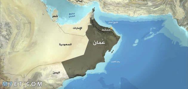 خريطة عمان صماء ومعلومات عنها وعدد السكان
