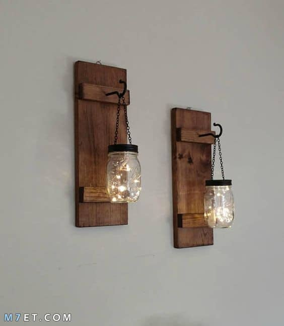 ديكورات خشبية