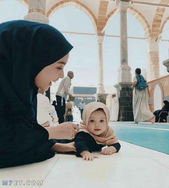 صور اطفال بنات محجبات 2020