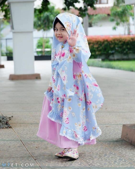 صور اطفال بنات محجبات