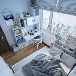 تصميمات غرف نوم شباب 2021