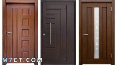 Photo of افضل تصميمات الأبواب الخشبية 2021