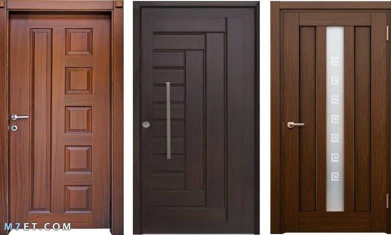 افضل تصميمات الأبواب الخشبية 2020