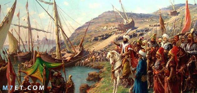 اول من ركب بحر الروم