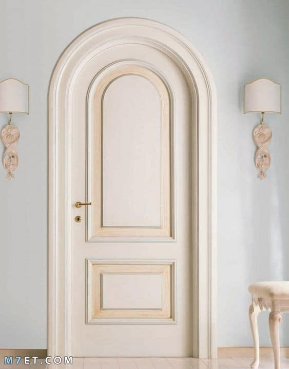 افضل تصميمات الأبواب الخشبية