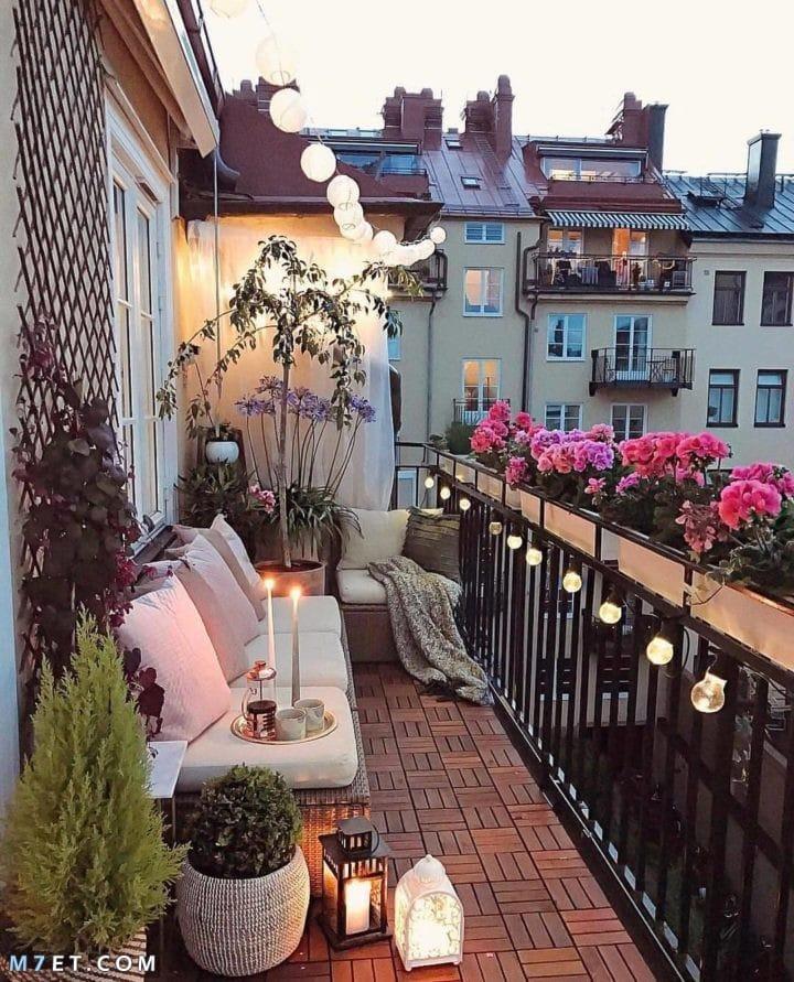 صور تصميمات لشرفة المنزل