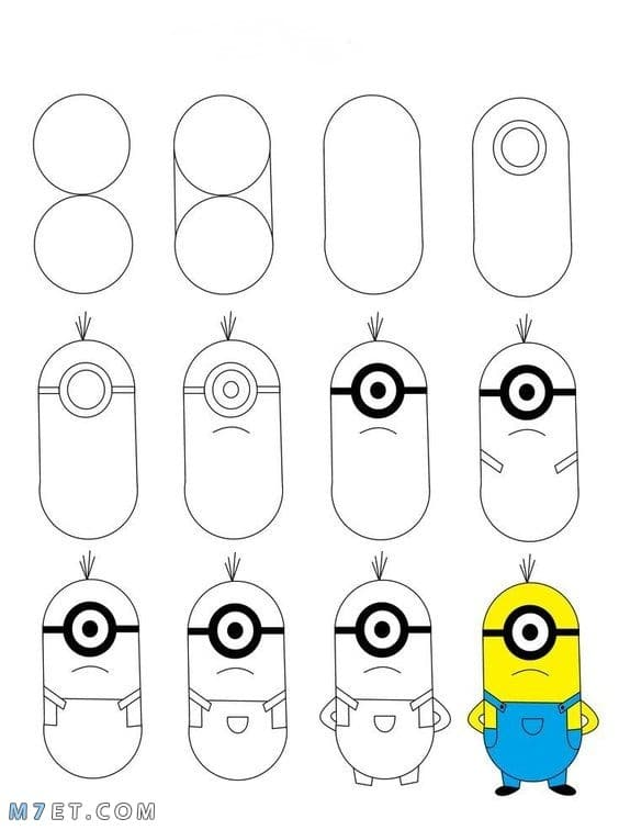 بالصور خطوات تعليم الرسم للاطفال