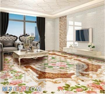 افضل اشكال وتصميمات الأرضيات
