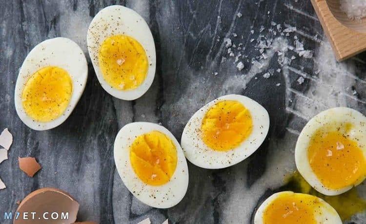 اطباق البيض