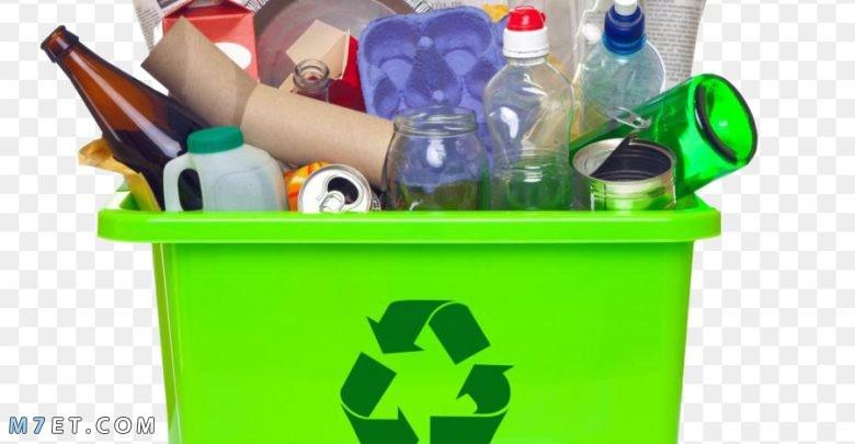 اعادة تدوير البلاستيك