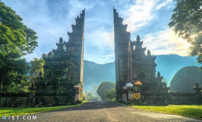 الأماكن السياحية في بالي