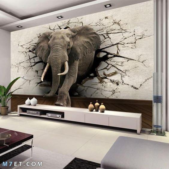 اجمل رسومات 3d للحوائط