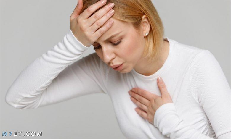 أعراض ضيق التنفس أسبابه وعلاجه