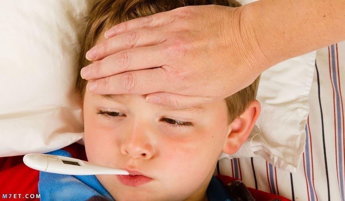 علاج الحمى في المنزل