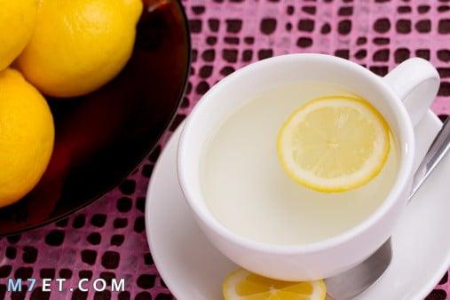 فوائد شرب الماء مع الليمون