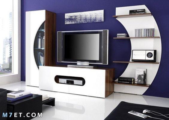 احدث تصاميم مكتبات التلفزيون