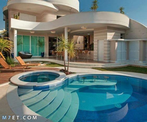 احدث تصميمات حمامات السباحة