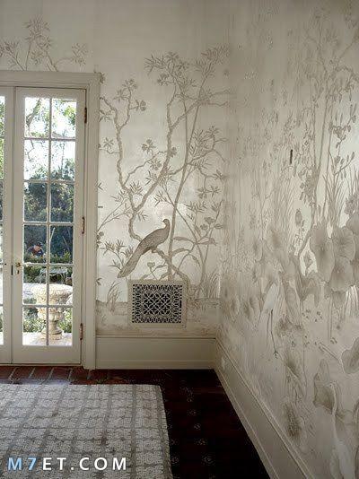 احدث تصاميم واشكال ورق الحائط