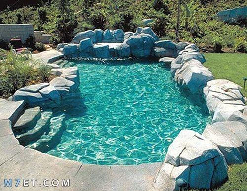 اجمل صور وتصميمات حمامات السباحة